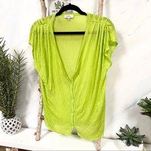 💚BABATON▪️stunning sheer blouse